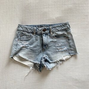 American Eagle high wasted jean short